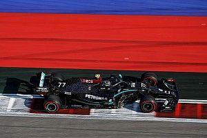 俄罗斯大奖赛FP2:博塔斯继续领先,汉密尔顿第二