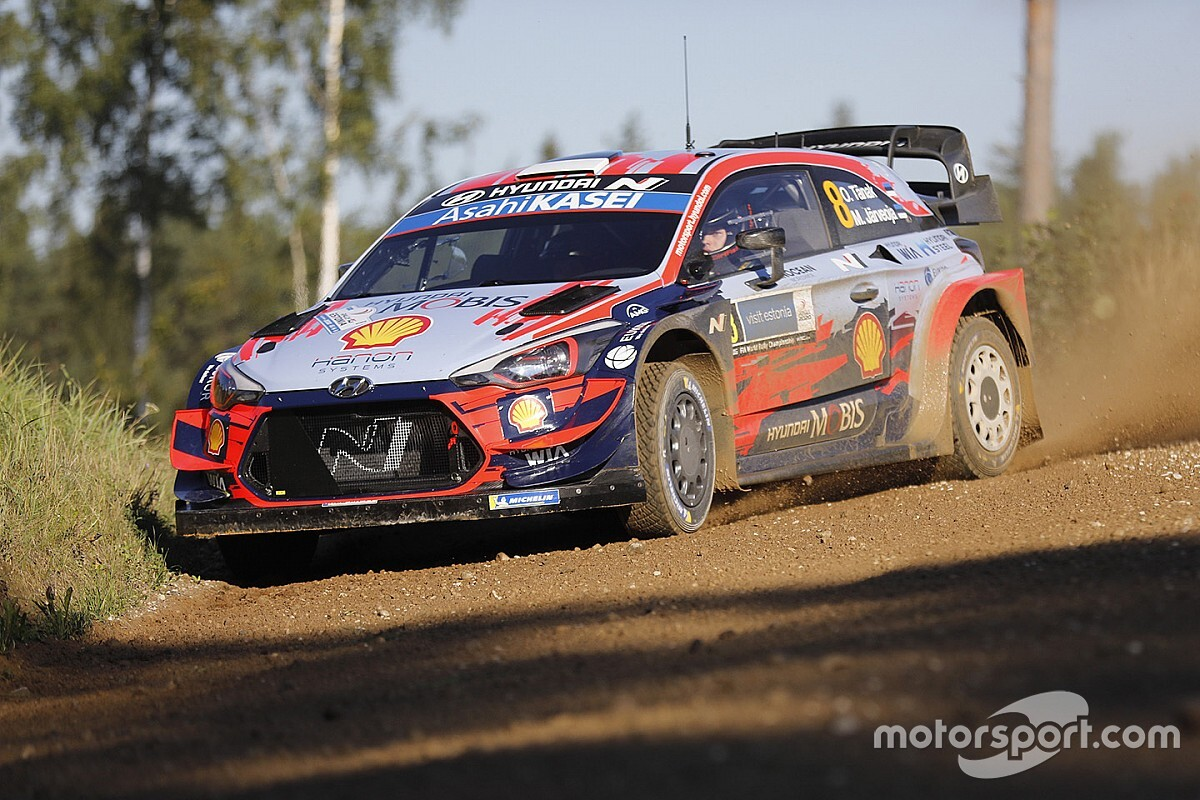 Tanak lidera el 'shakedown' en Estonia en la vuelta del WRC