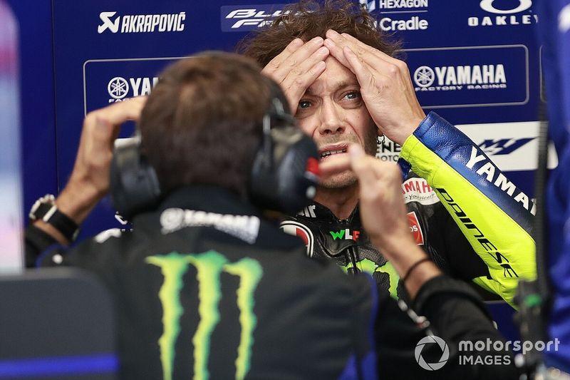 Rossi descorcha su quinto motor y ya no le queda ninguno nuevo