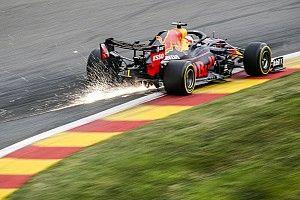 F1: las mejores imágenes del viernes del GP de Bélgica 2020