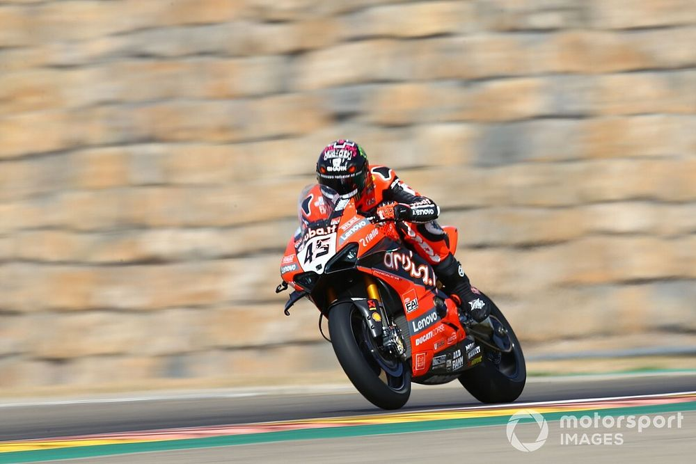 SBK, Aragon, Gara 1: Redding trionfa nella doppietta Ducati