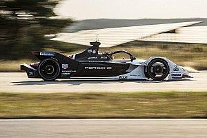 Wehrlein completes first Porsche Formula E test