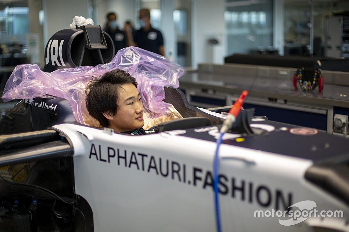F1: Tsunoda farà un test con l'AlphaTauri a Imola il 4 novembre