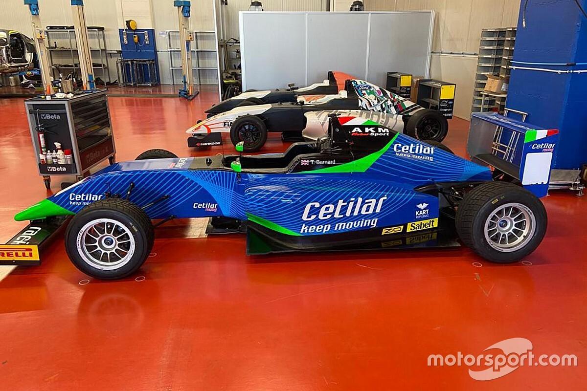 Formula 4: nuova collaborazione AKM-Cetilar Racing per Barnard