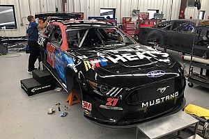 Watch: How to vinyl wrap a NASCAR Cup stock car