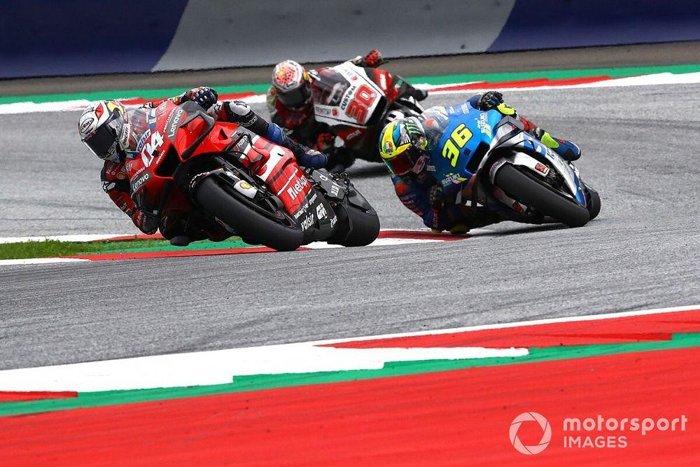 """Dovizioso: """"Suzuki es el presente y serán muy competitivos en el futuro"""""""