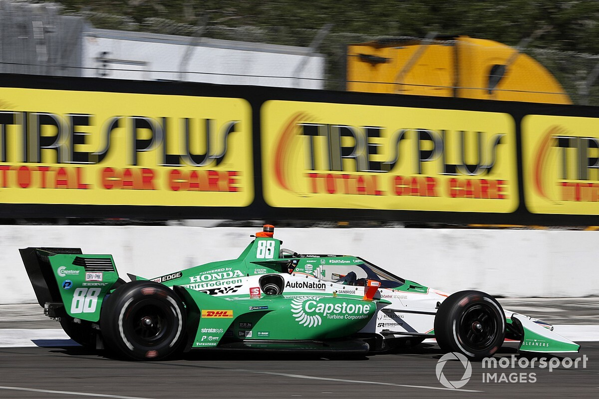 Hinchcliffe to run Capstone sponsorship in six races