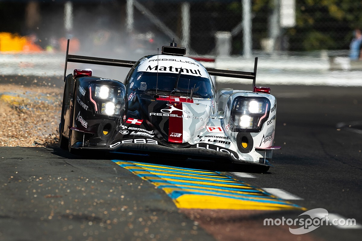 Le Mans 24h: Rebellion leads Toyota in fourth practice