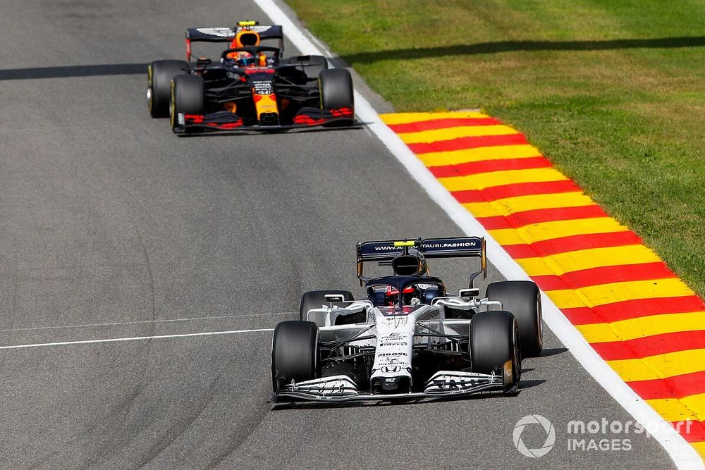 Gasly'nin formu, Red Bull'un pilot fikrini değiştirmedi