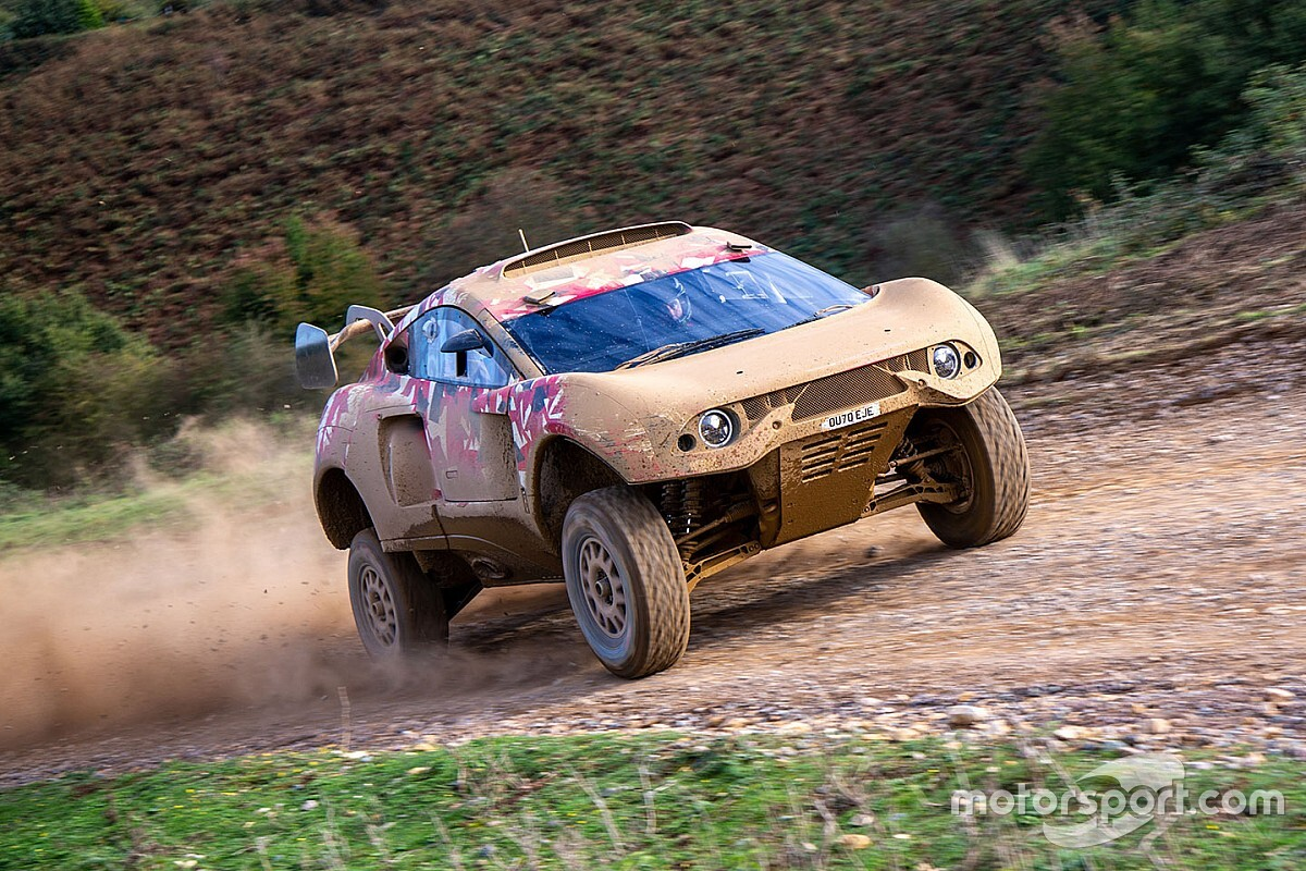 Loeb, Roma complete first BRX test ahead of Dakar