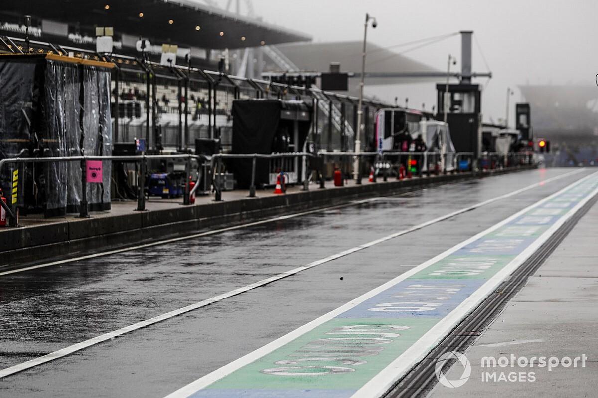 艾菲尔大奖赛FP2再度因天气原因没能进行