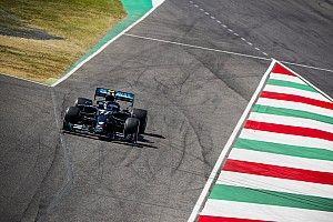 GP de la Toscana de F1: Bottas lidera una 'confusa' FP1