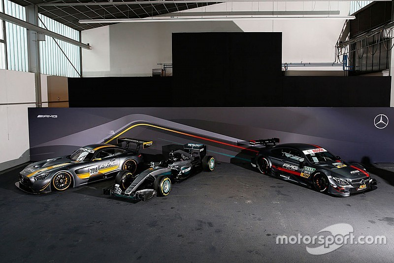Mercedes formula one dtm drivers ready for challenging for Mercedes benz f1 drivers