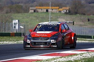 WTCC Testing report Lopez ends quickest on final Vallelunga test day