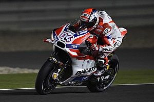 "Dovizioso ""optimistic"" for Qatar: ""We have the speed"""