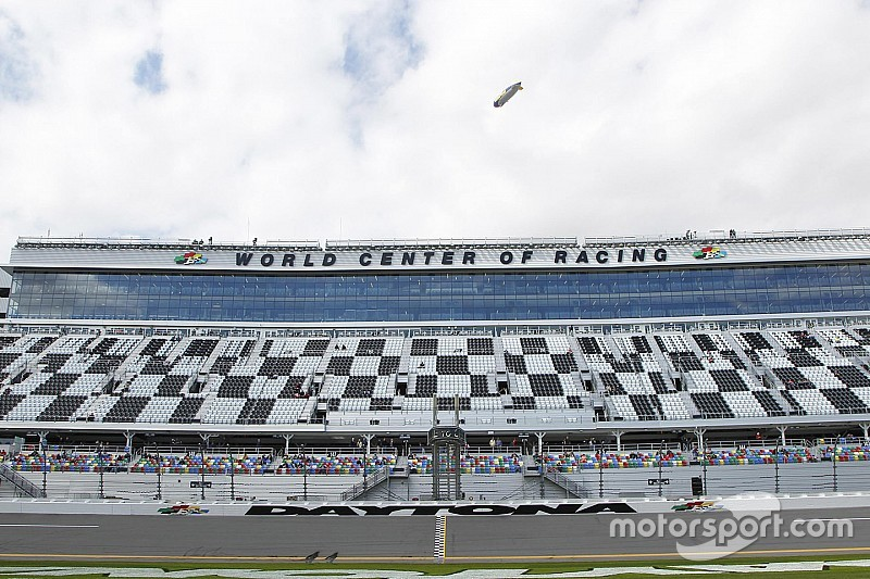 Daytona International Speedway suffers damage from Hurricane Matthew