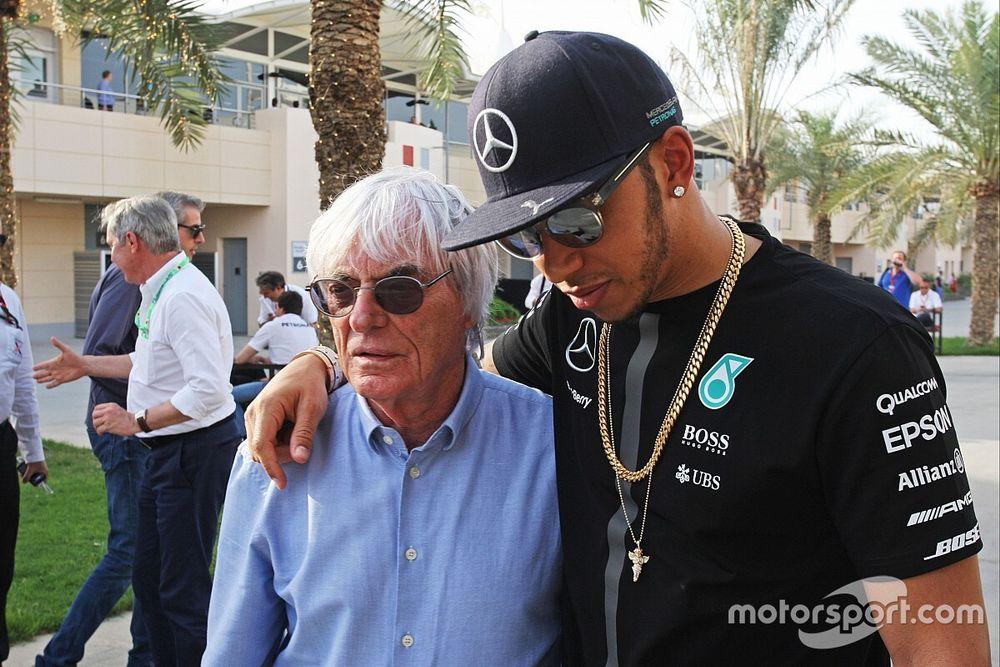 Hamilton responde a los comentarios de Ecclestone