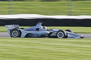 Road America IndyCar: Newgarden leads Sato in opening practice