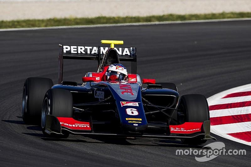 Alesi gana con autoridad la segunda carrera de la GP3 en condiciones mixtas