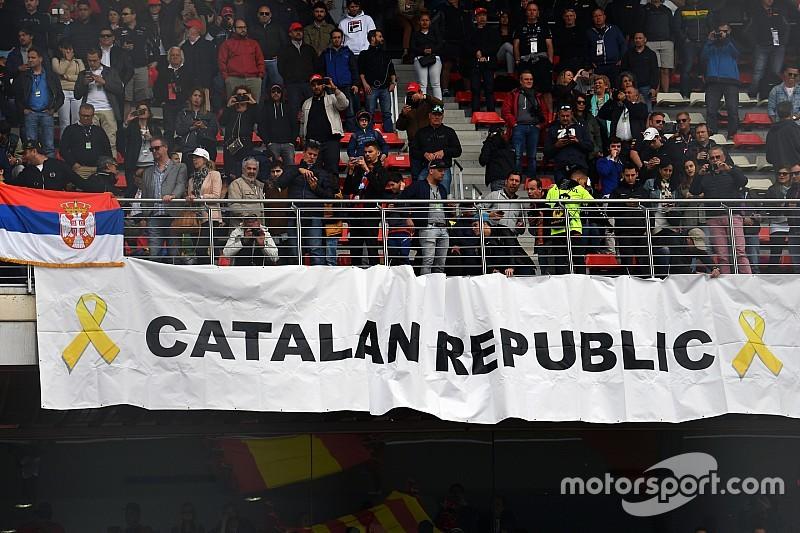 Исполнение каталонского гимна на Гран При Испании привело к скандалу