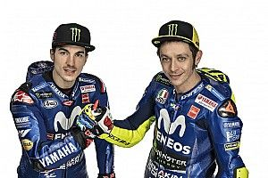 Vinales ingin Rossi tetap berkarier di Yamaha