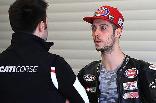 Zanetti sostituirà Laverty a Misano sulla Ducati del Team Go Eleven