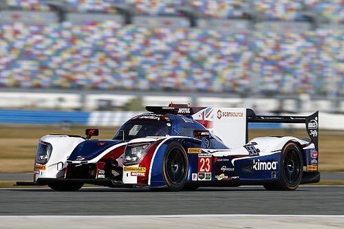 Akció közben Alonso az LMP2-es versenygéppel Daytonában