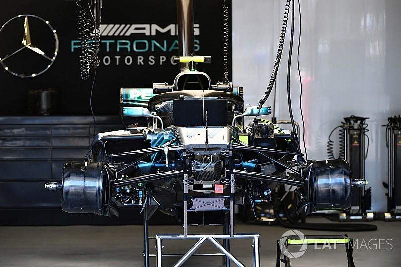 Mercedes tiene soluciones provisionales en Bakú