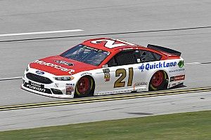 Paul Menard fends off Logano for Stage 2 win at Talladega
