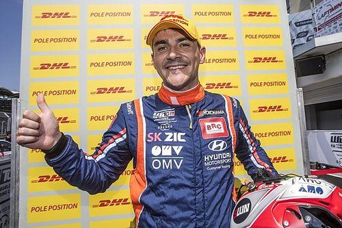 Michelisz sumó otra pole y Guerrieri fue tercero
