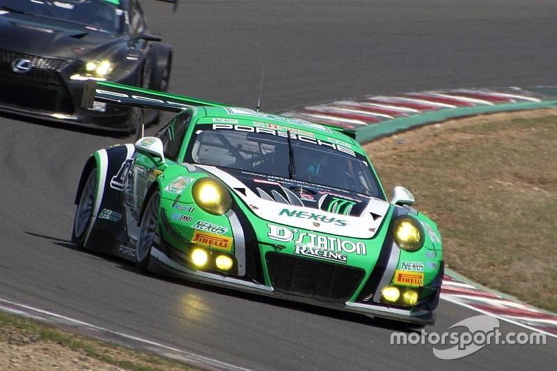 スーパー耐久第2戦菅生予選:D'station Porscheが今季初ポールを獲得
