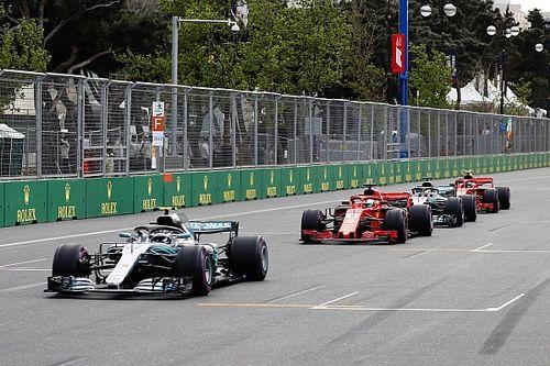 """Vettel, sobre manobra em Bottas: """"Eu tinha que tentar"""""""
