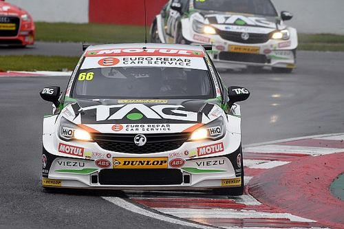 Donington BTCC: Cook converts pole to maiden win