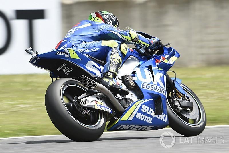 Iannone zet de toon voor Marquez in warm-up Grand Prix van Italië