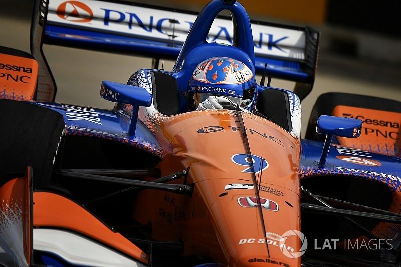 Scott Dixon sconfigge il trio Andretti e trionfa a Detroit