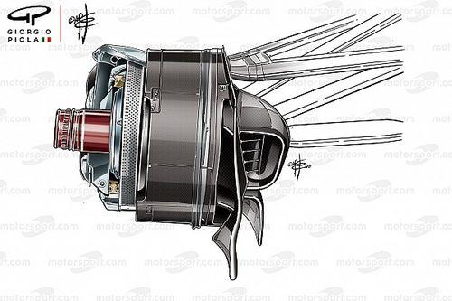 Mercedes: la CI passa dai dischi asimmetrici del Canada ai sei fori del Ricard