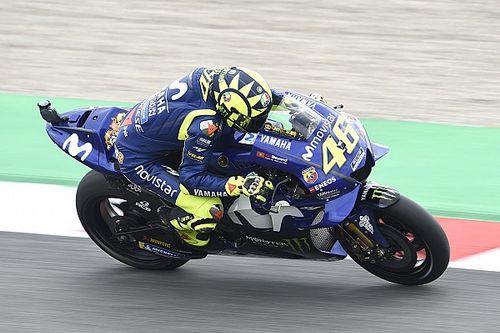 Un peu trop de patinage pour Rossi