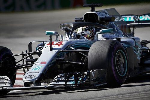 """Mercedes-rijders balen van bandenkeuze: """"Hadden meer hypersofts moeten nemen"""""""