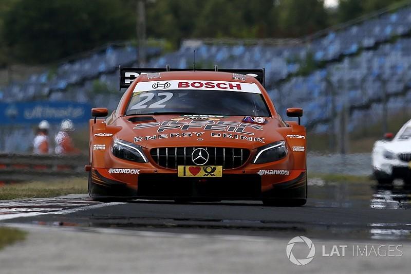 Lucas Auer in pole per Gara 2 nel dominio Mercedes dell'Hungaroring