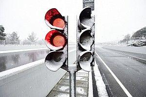 Hari ketiga tes F1 Barcelona ditunda karena salju