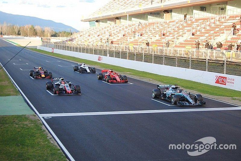 """Grosjean cree puede haber """"carnicerías"""" en los reinicios de la F1"""