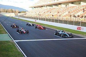 """""""فيا"""" تختبر نظام الانطلاقات الثابتة في الفورمولا واحد على حلبة برشلونة"""