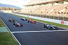 FIA trials F1 standing restart system in Barcelona