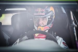 WRC Ultime notizie Loeb ammette: