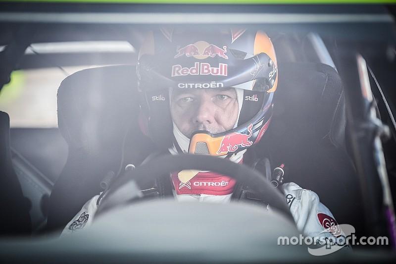 Sebastien Loeb bei WRC-Test für Rallye Wales dabei