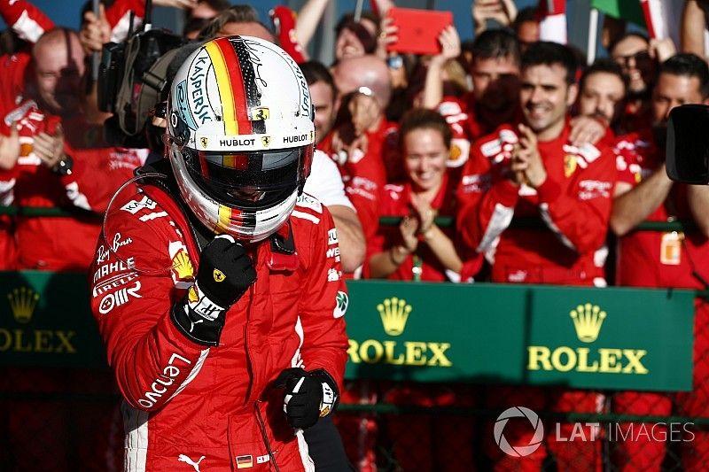 "Vettel: ""Recé para que hubiera un Safety Car; tuvimos suerte"""