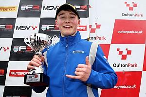 British F3 Actualités Billy Monger sur le podium pour son retour à la compétition!