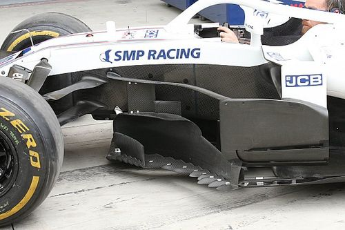 Williams: ecco un set di lame per copiare la Mercedes W09