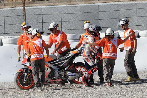 "Marquez: ""La caduta? Avevo gomme usate e stavo spingendo"""