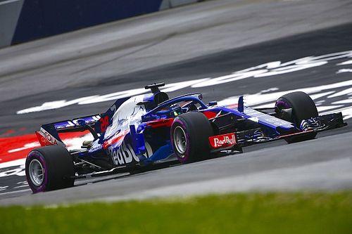 Gasly y Hartley dudan del nuevo paquete aerodinámico de Toro Rosso